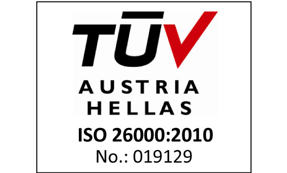 Απόκτηση νέου Πιστοποιητικού για το διεθνές πρότυπο ISO 26000
